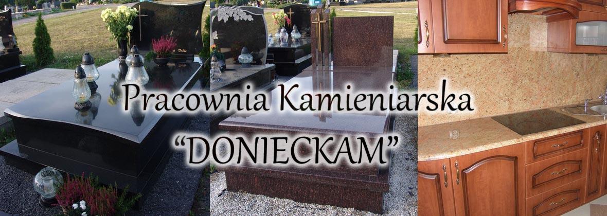 KAMIENIARSTWO - DONIECKAM Logo